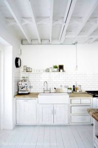 whitewash kitchen